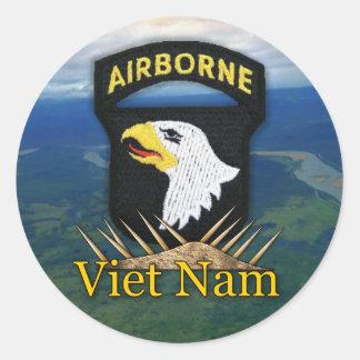101st airborne division veterans vietnam vets stic stickers