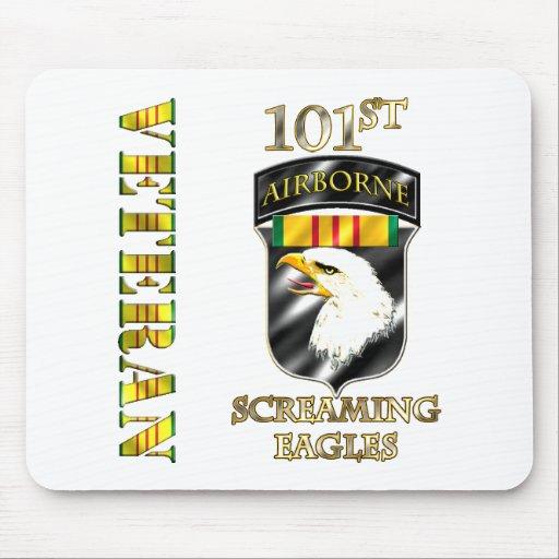 101st Airborne Division Vietnam Veteran Mousepads