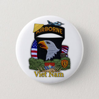101st airborne division vietnam war Button
