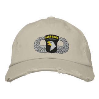 101st Airborne Embroidered Hat