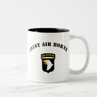 101st Airborne Insignia Two-Tone Coffee Mug