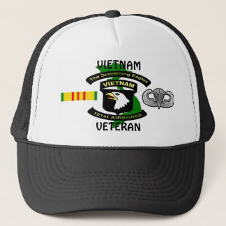 101st Airborne Screaming Eagle Vietnam Ball Caps