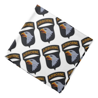 101st airborne screaming eagles veterans patch bandana