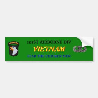 101st Airborne Vietnam Bumper Sticker