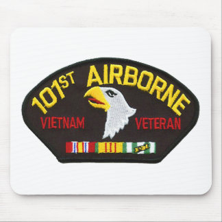 101st Airborne Vietnam Veteran Mouse Pad