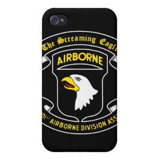 101st Army Airborne Screaming Eagle Patch Case For The iPhone 4