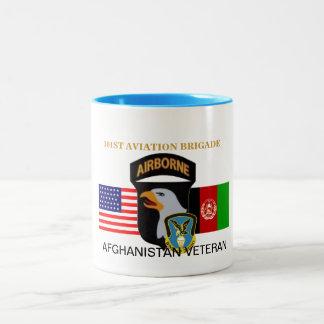 101ST AVIATION BRIGADE AFGHANISTAN WAR MUG