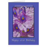101st Birthday, Lavender Lilies Cards