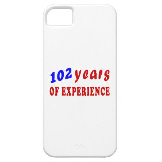 102 years of experience iPhone 5/5S cover