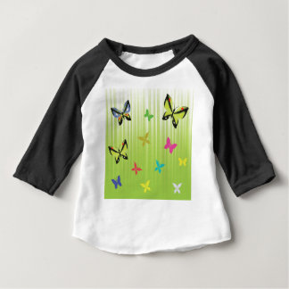 102Green  Background _rasterized Baby T-Shirt