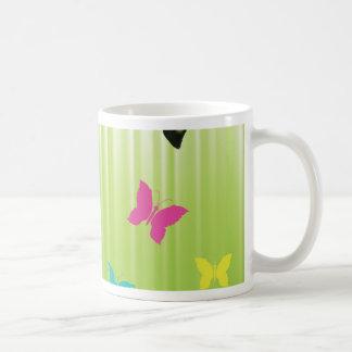 102Green  Background _rasterized Coffee Mug