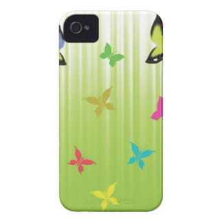 102Green  Background _rasterized iPhone 4 Case