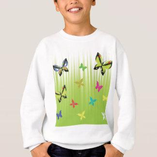 102Green  Background _rasterized Sweatshirt