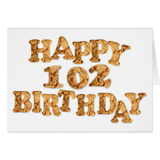 102nd Birthday card for a cookie lover