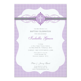 103 Annette - BAPTISM INVITE :: immaculate