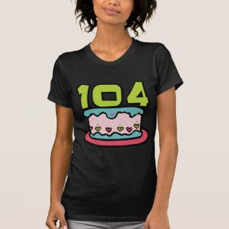 104 Year Old Birthday Cake T-Shirt