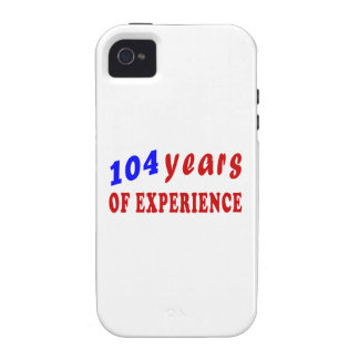 104 years of experience Case-Mate iPhone 4 cover