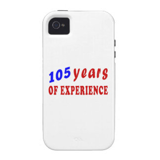 105 years of experience vibe iPhone 4 case