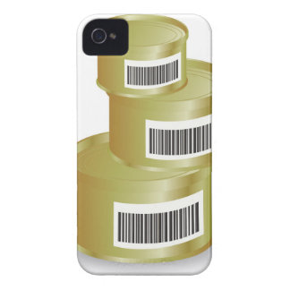 105Canned Food _rasterized iPhone 4 Case-Mate Case