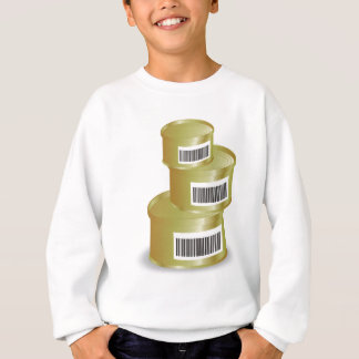 105Canned Food _rasterized Sweatshirt
