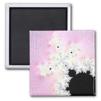 108-01 black mandy in a pink sky magnet