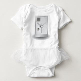 108Metal Safe_rasterized Baby Bodysuit