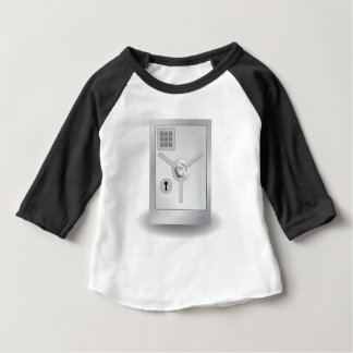 108Metal Safe_rasterized Baby T-Shirt