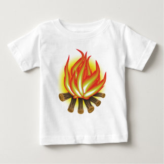 109Fire _rasterized Baby T-Shirt