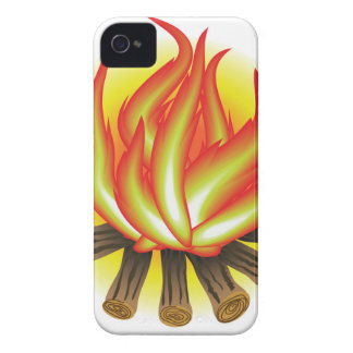 109Fire _rasterized Case-Mate iPhone 4 Cases