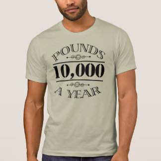 10,000 Pounds a Year Mr. Darcy shirt