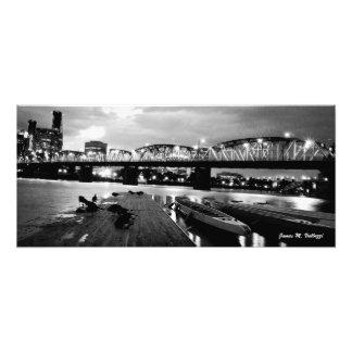 10 61 x 24 Hawthorne Bridge Portland Oregon Photo Print