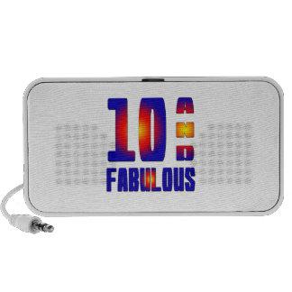 10 And Fabulous Portable Speaker
