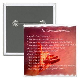 10 Commandments  Pin