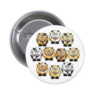 10 Cow Button