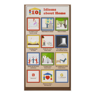 10 Idioms about Home Poster