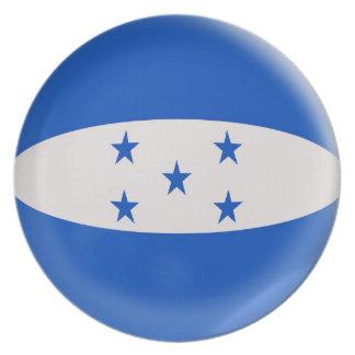 10 inch Plate Honduras flag