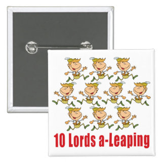10 Lords a-Leaping Button Button