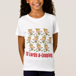 10 Lords a-Leaping T-shirt