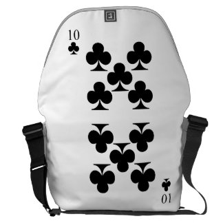 10 of Clubs Courier Bags