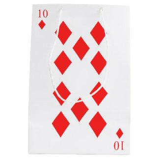 10 of Diamonds Medium Gift Bag