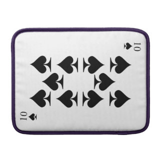 10 of Spades MacBook Sleeve