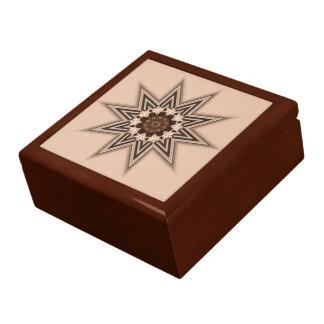 10 Point Star Jewelry Box