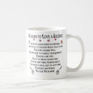 10 Reasons to love a Soldier, 10 Reasons to lov... Mug