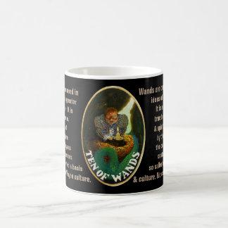 10. Ten of Wands - Sailor tarot Coffee Mug