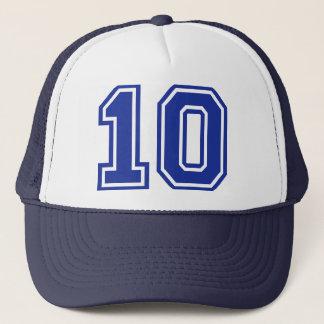 10 - ten trucker hat