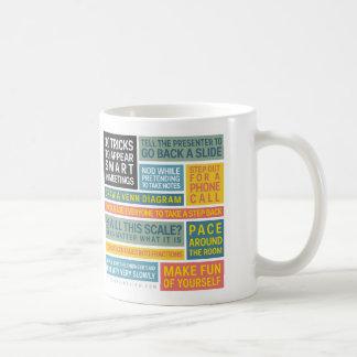 10 Tricks to Appear Smart During Meetings Coffee Mugs