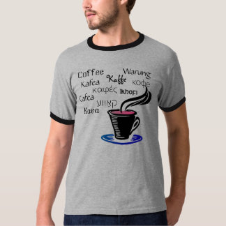 10 Ways to Say Coffee T-Shirt