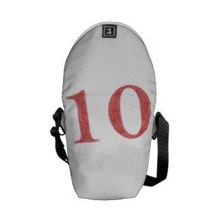 10 years anniversary messenger bag