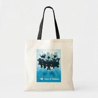 10 Years of Webkinz Silhouette Tote Bag