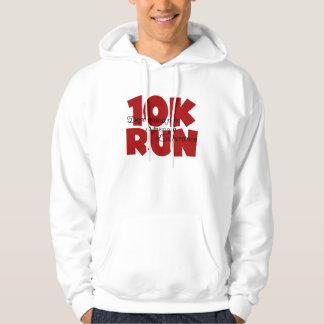 10K Run Red Hoodie